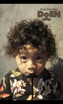 OSAKA,Higashiosaka,hanazono,BARBER,men's hair,hair salon,men's perm,DoEN,haircut,kids cut,kidsperm